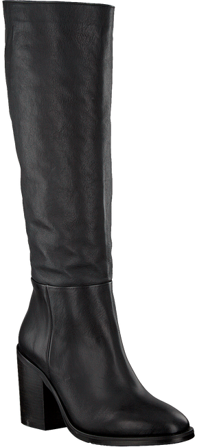 Schwarze TOMMY HILFIGER Hohe Stiefel MONO COLOR LONG  - large