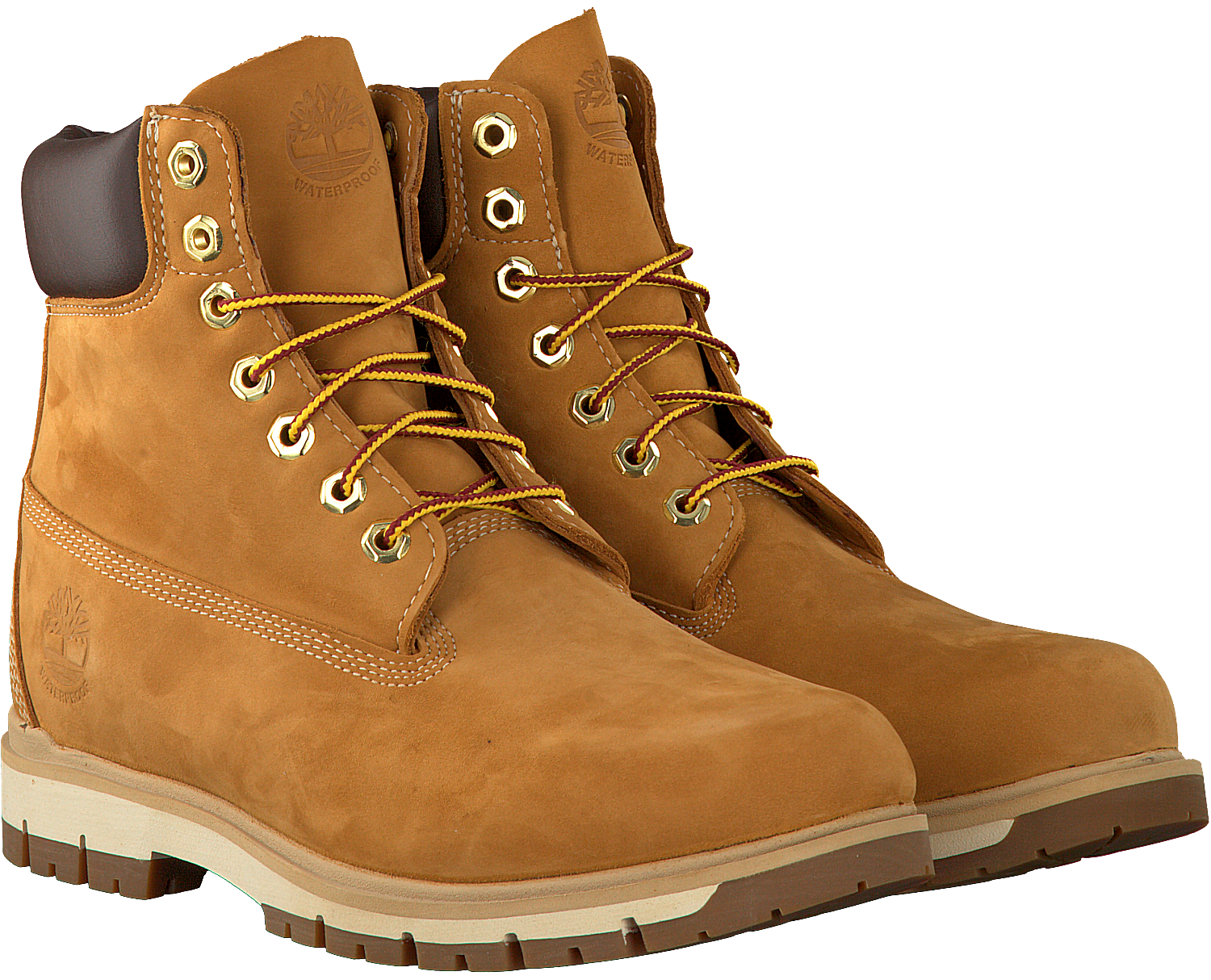 Camelfarbene TIMBERLAND Ankle Boots RADFORD 6 BOOT WP