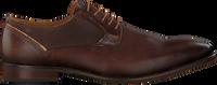 Braune MAZZELTOV Business Schuhe MREVINTAGE  - medium