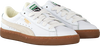 Weiße PUMA Sneaker BASKET CLASSIC GUM DELUXE JR - small