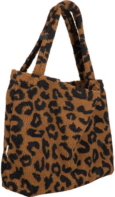 Braune STUDIO NOOS Shopper TEDDY LEOPARD MOM-BAG  - large