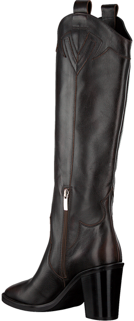 Braune JANET & JANET Hohe Stiefel 46453  - large