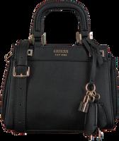 Schwarze GUESS Handtasche KATEY MINI SATCHEL  - medium