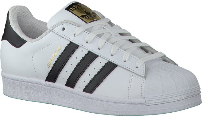 Weiße ADIDAS Sneaker SUPERSTAR HEREN - large