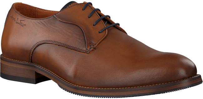 Cognacfarbene VAN LIER Business Schuhe 1859204 - large