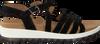 Schwarze GABOR Sandalen 744.3  - small