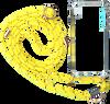 Gelbe KASCHA-C Handy-Schutzhülle PHONECORD IPHONE X/XS  - small