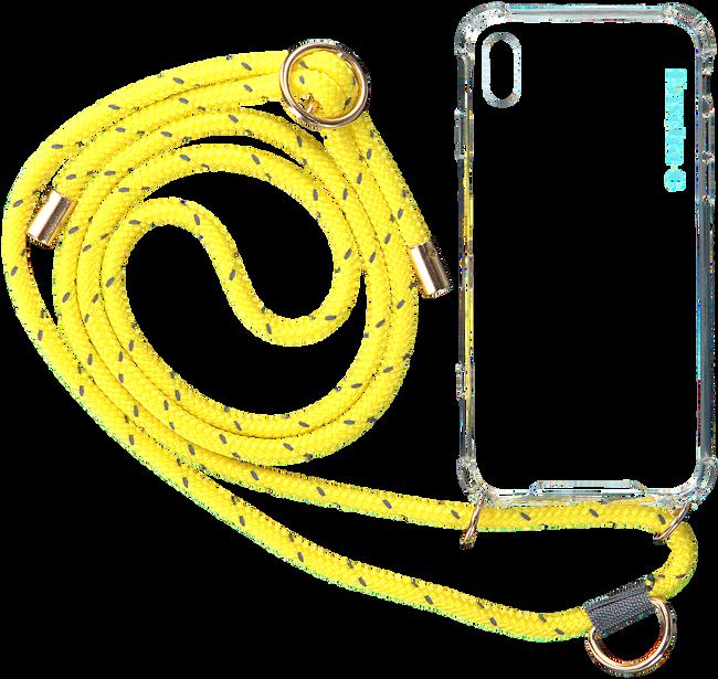 Gelbe KASCHA-C Handy-Schutzhülle PHONECORD IPHONE X/XS  - large