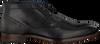 Schwarze OMODA Business Schuhe 734-A - small