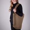 Braune STUDIO NOOS Shopper CHUNKY TEDDY MOM-BAG  - small