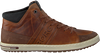 Cognacfarbene BJORN BORG Sneaker CURD MID M  - small