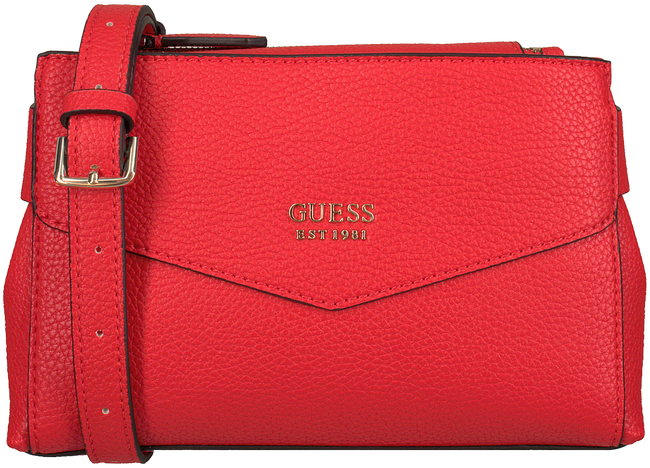 Rote GUESS Umhängetasche COLETTE MINI SOCIETY CROSSBODY  - large