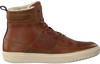 Cognacfarbene BJORN BORG Sneaker COLLIN HIGH  - small