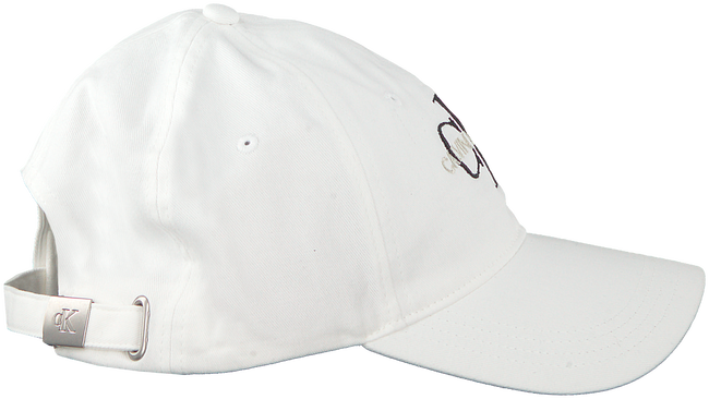 Weiße CALVIN KLEIN Kappe J MONOGRAM CAP M  - large