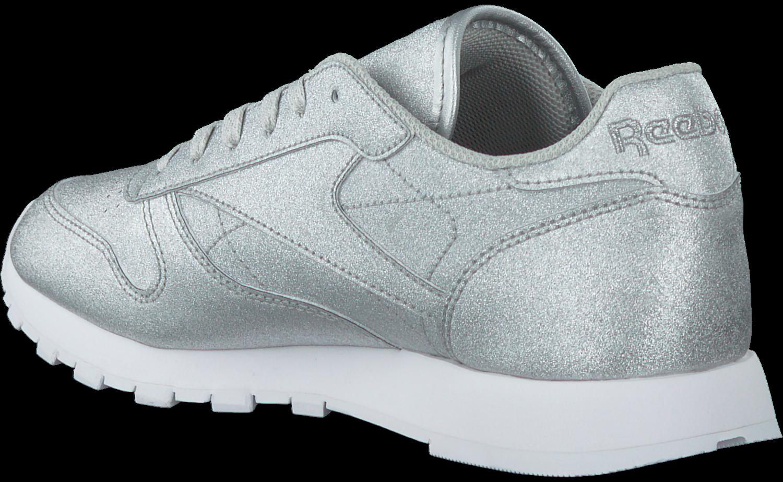 new concept e35b1 2ece5 Silberne REEBOK Sneaker CL LEATHER WMN