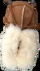 Cognacfarbene BERGSTEIN Babyschuhe PANDA  - small
