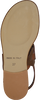 Cognacfarbene NOTRE-V Sandalen 18704  - small