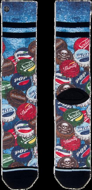 Schwarze XPOOOS Socken SODA P - large