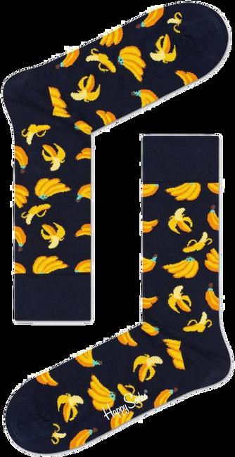 Schwarze HAPPY SOCKS Socken BANANA  - large