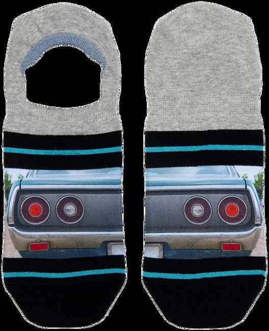 Blaue XPOOOS Socken MUSCLE CAR  - large