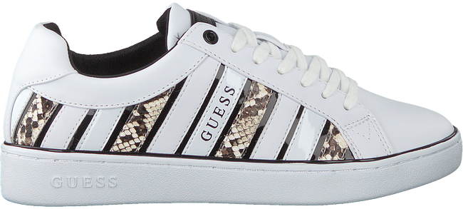 Weiße GUESS Sneaker low BOLIER
