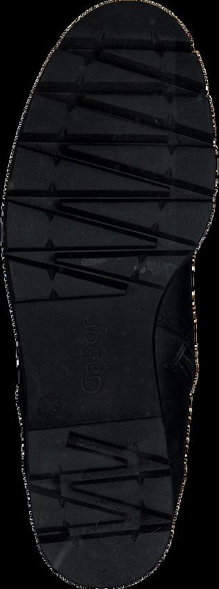 Schwarze GABOR Schnürboots 93.711.27 NEW JERSEY - larger