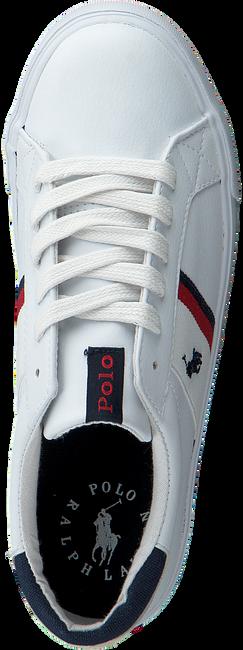 Weiße POLO RALPH LAUREN Sneaker low GAFFNEY  - large