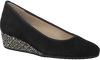 Schwarze HASSIA Slipper 2124 - small