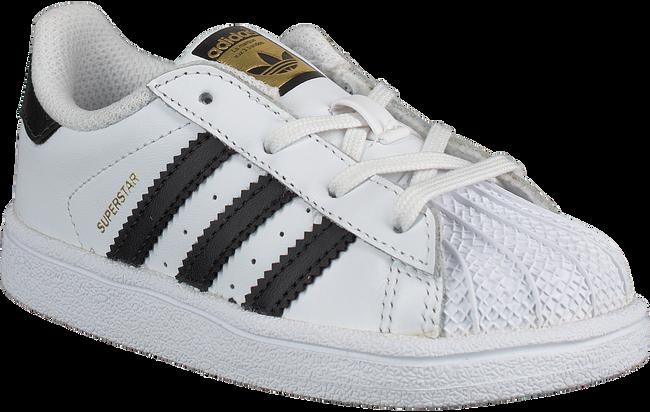 Weiße ADIDAS Sneaker SUPERSTAR I - large