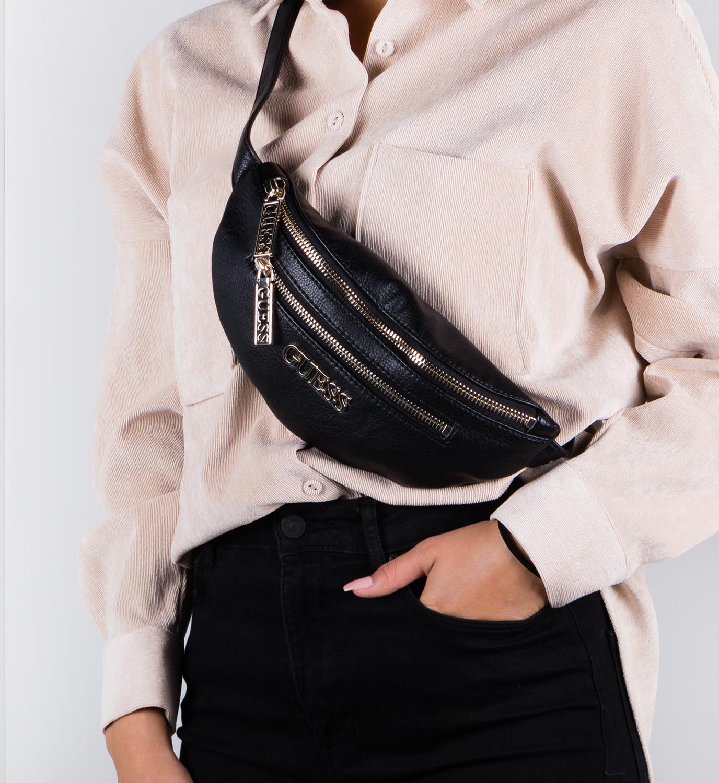 GUESS Manhattan Belt Bag Black