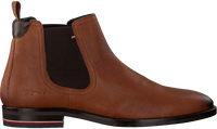 Cognacfarbene TOMMY HILFIGER Chelsea Boots SIGNATURE HILFIGER CHELSEA  - medium