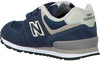 Blaue NEW BALANCE Sneaker YV574/IV574 - small