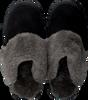 Schwarze WARMBAT Hausschuhe ALICE  - small