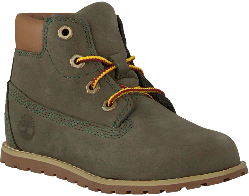 Graue TIMBERLAND Ankle Boots POKEY PINE 6IN BOOT KIDS - larger
