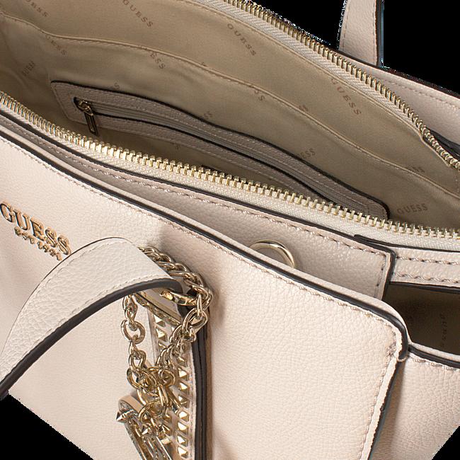 Graue GUESS Handtasche EILEEN SATCHEL  - large
