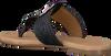Schwarze OMODA Pantolette 17981  - small