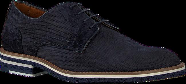 Blaue MAZZELTOV Business Schuhe 5406  - large