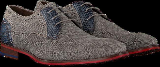 Graue FLORIS VAN BOMMEL Business Schuhe 18107  - large