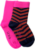 Mehrfarbige/Bunte LE BIG Socken TANEDRA SOCK 2-PACK  - small