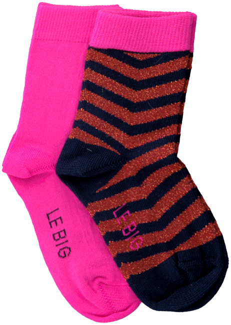 Mehrfarbige/Bunte LE BIG Socken TANEDRA SOCK 2-PACK  - large