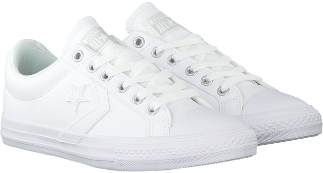 Weiße CONVERSE Sneaker STAR PLAYER EV OX KIDS - large