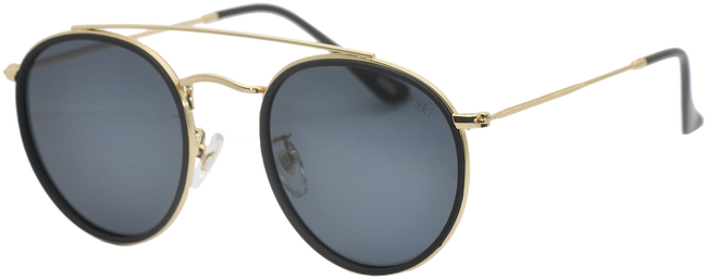 Schwarze IKKI Sonnenbrille RYDER  - large