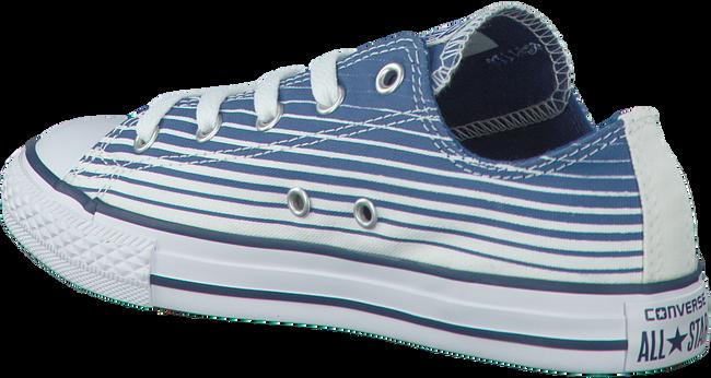 Blaue CONVERSE Sneaker CTAS STRIPE KIDS - large