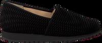 Schwarze HASSIA Slipper 1688 - medium