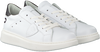 Weiße PHILIPPE MODEL Sneaker GRANVILLE PMP VEAU  - small