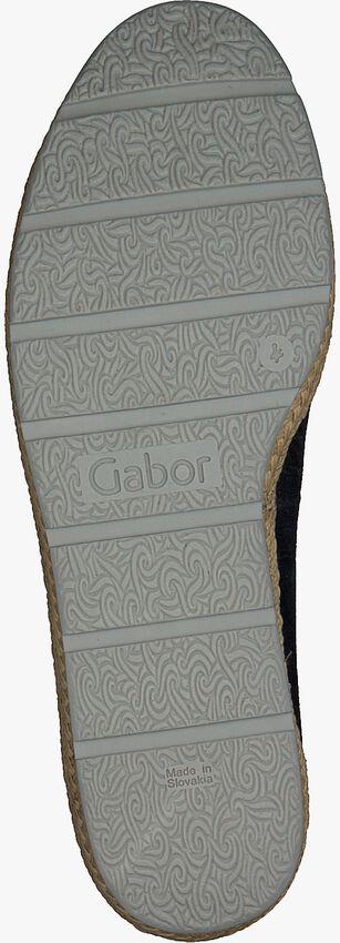 Schwarze GABOR Slipper 400.1 - larger