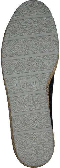 Schwarze GABOR Slipper 400.1 - large