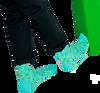 Blaue HAPPY SOCKS Socken CONFETTI PALM  - small
