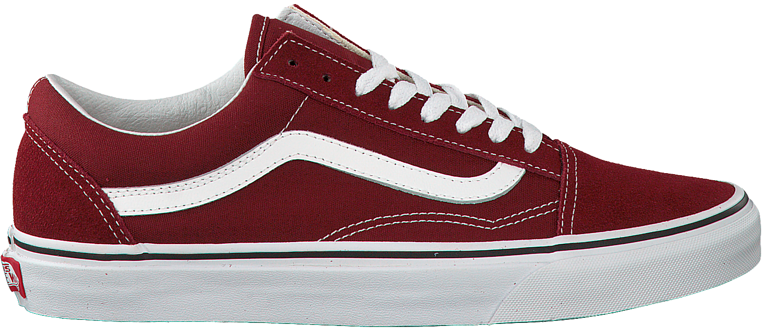 brand new aa4f7 4dcfc Rote VANS Sneaker OLD SKOOL MEN