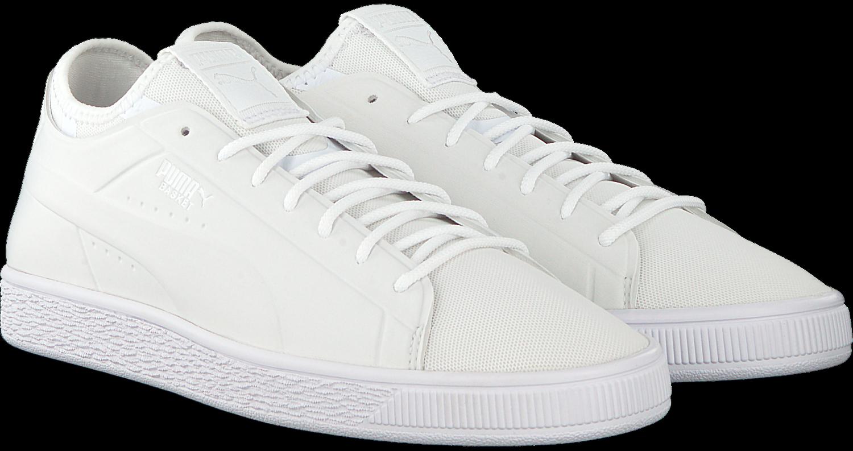 6d8cb7299b1ee3 Weiße PUMA Sneaker BASKET CLASSIC SOCK LO MEN - Omoda.de